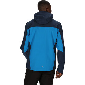 Regatta Birchdale Veste Shell Imperméable Homme, imperial blue/nightfall navy/brunswick blue